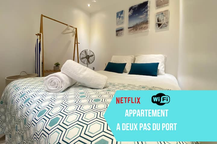 ☆Little Paradise in La Ciotat☆Centre☆Wifi☆Netflix