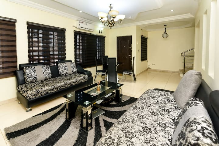 New Beautiful Four Bedroom Duplex in Omole estate!