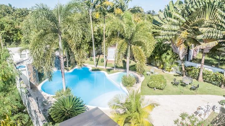 Espectacular paraíso en Juan Dolio piscina de lujo
