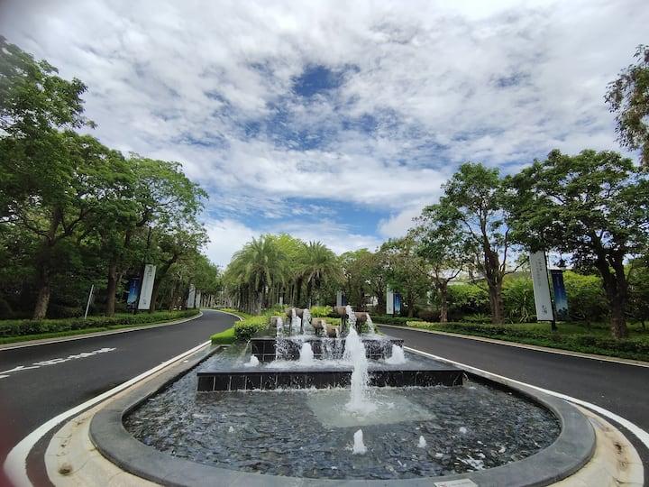 博鳌金湾高层公寓近潭门渔港博物馆拥有8个游泳池