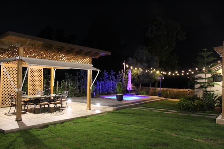 Espectacular Villa  con Jacuzzi bajo estrellas