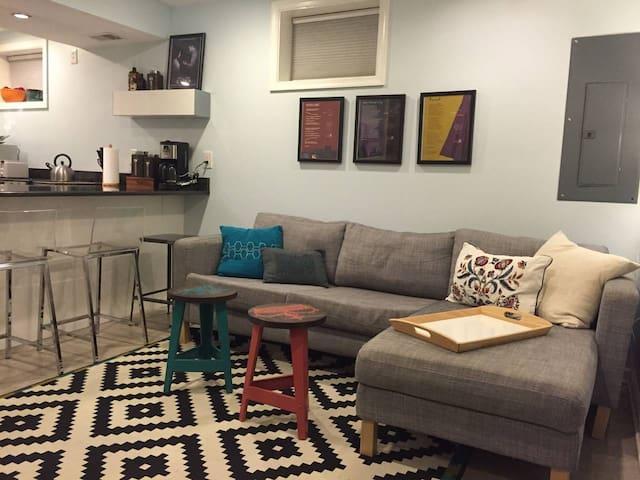 Cozy Basement in Bustling H Street