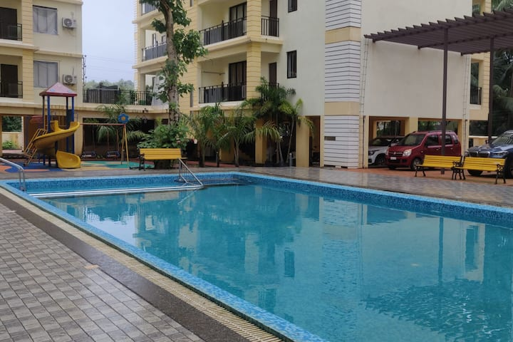 Apartment 3 Patnem-Palolem Beach Park