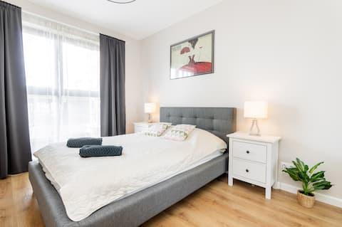 Superb Place to LIVE Mokotów *** 6th floor suite
