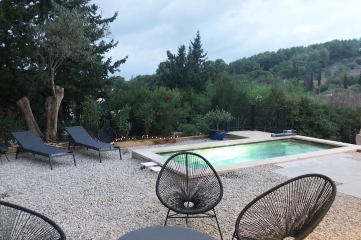Villa avec piscine privée  au cœur des vignes