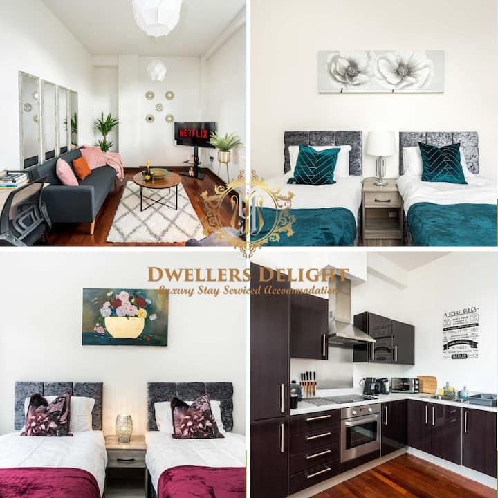 ✪ Perfect Location, 2 Bed Apt ✪ Cozy & comfortable