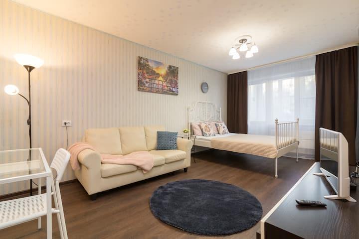 Уютная 3-ная квартира, 5 мин от центра, ул Усилова