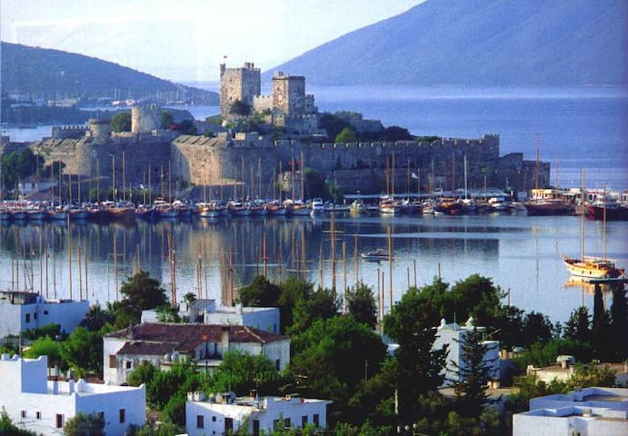 Spend yr winter in Bitez , Bodrum. Color yr life..