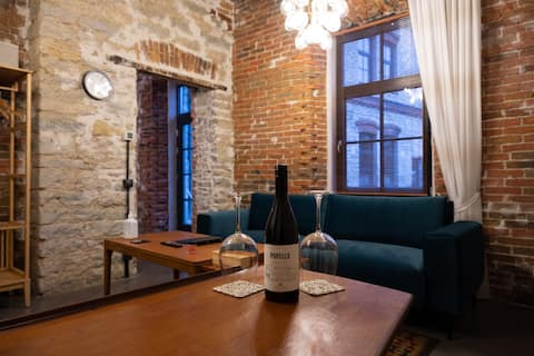 Private luxury apartment in historical building