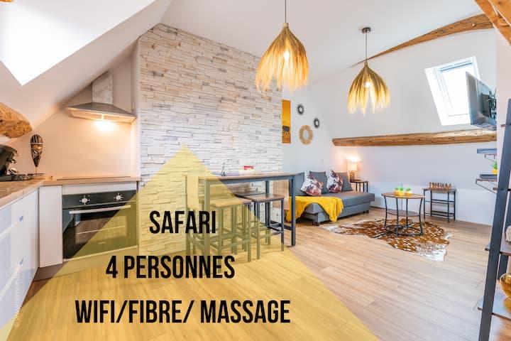 Nouveau/30mn de Paris/Safari/Hyper centre/4 pers