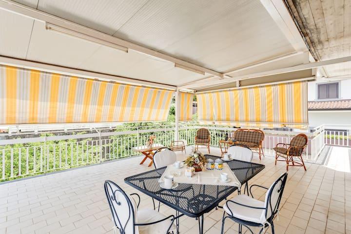 Villa di 180mq con terrazzi vista mare! Etna Park!