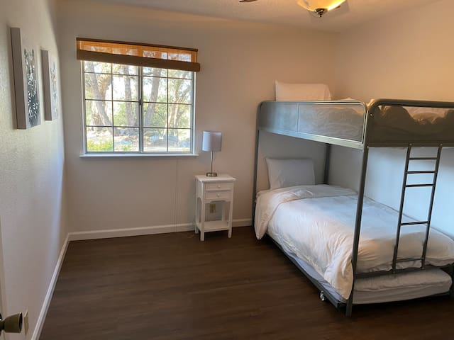 Bedroom 3. Bunk bed with trundle. Sleeps 3