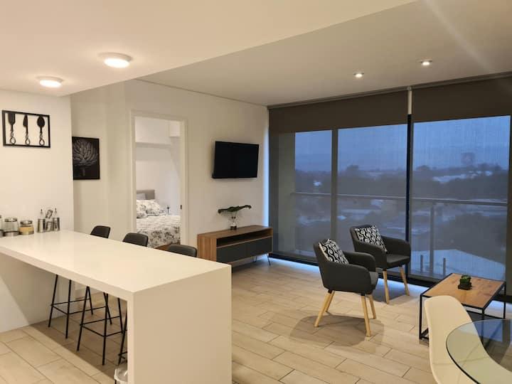 Amplio y cómodo apartamento en 4 grados norte