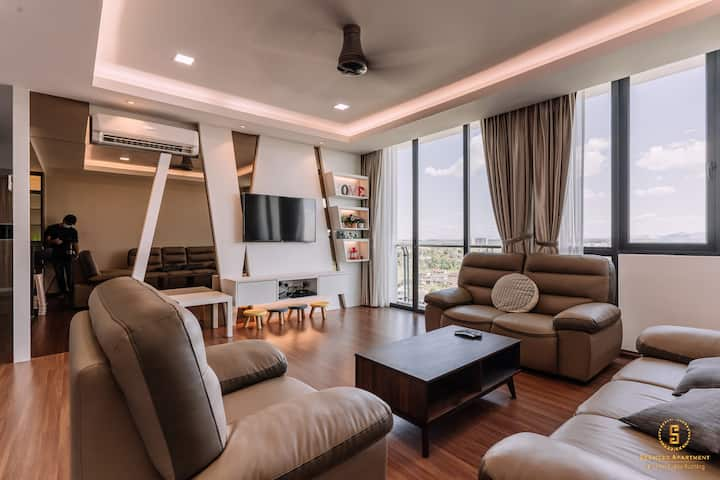 Serviced Apartment @ Vivacity Megamall (2-Bedroom)