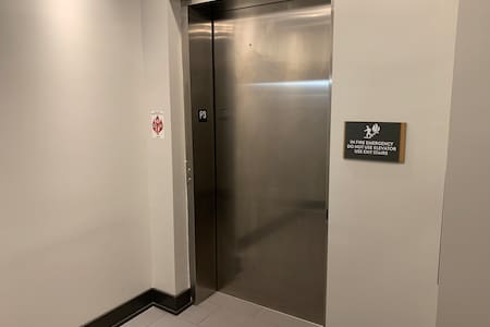 Fully elevator accessible to property