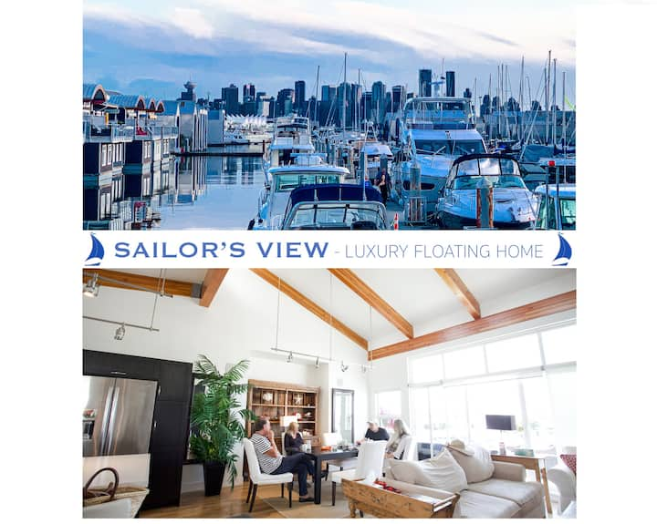 ** SAILOR'S VIEW ** - Floating House Retreat!  *