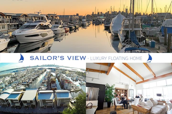* SAILOR'S VIEW * Floating House Retreat ⛵️