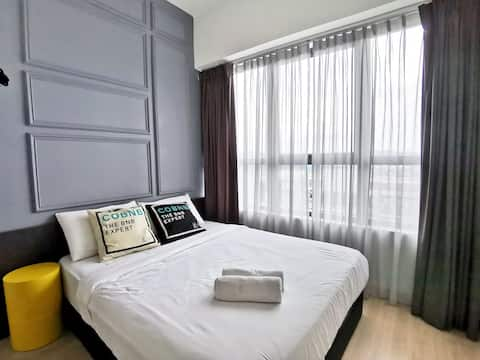 Master Private Room w/ WIFI near KLCC #NATP131a
