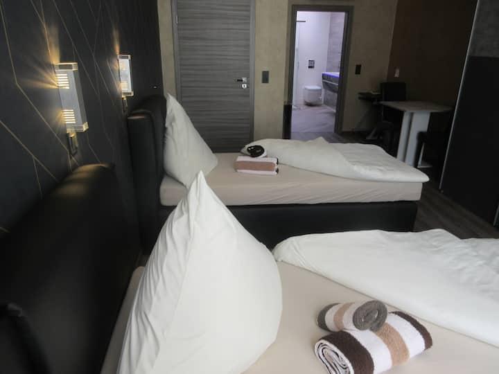 Privat Zweibettzimmer Hotel Palmenhof Kirkel