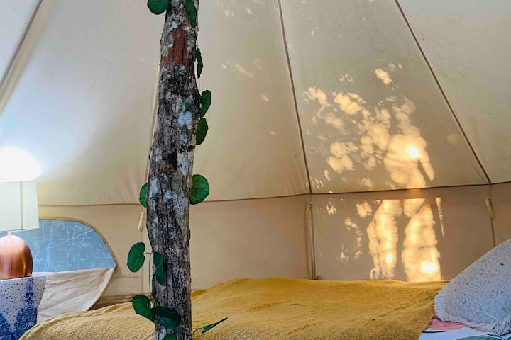 Teepee in the hinterlands