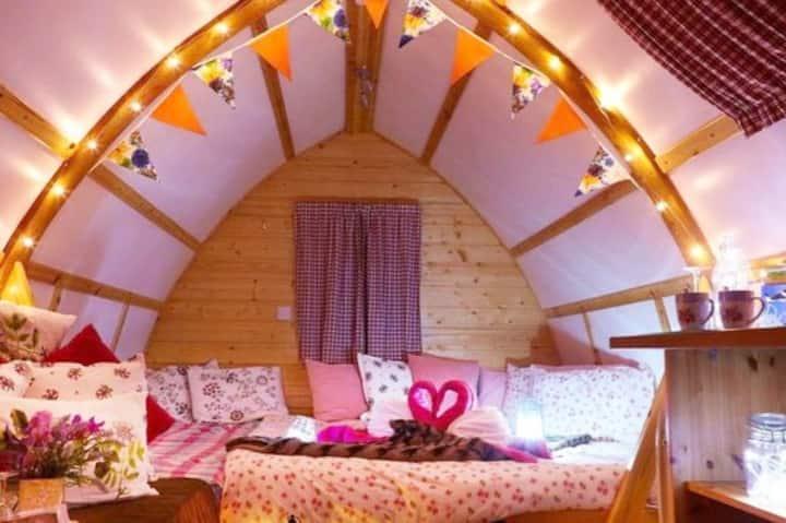 Wigwam Cabin 13 | Vineyard | Beautiful Views