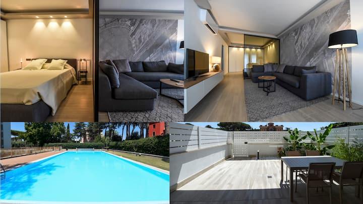 Apartment St. Peter's Way - Garden & Pool