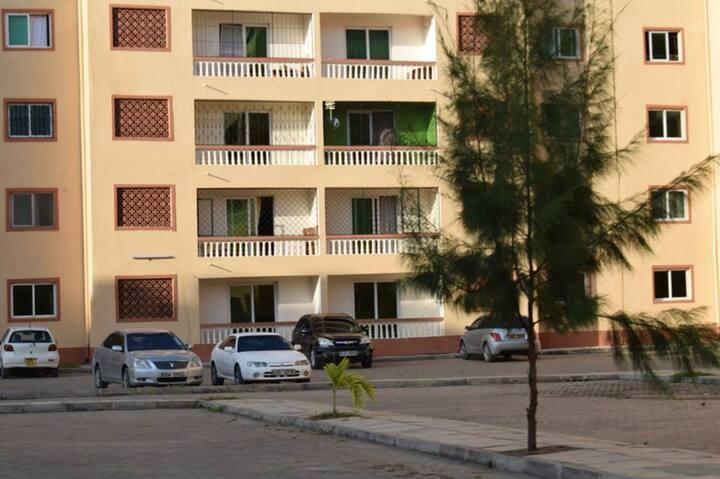 3 Bedroom Master Ensuite-Zawadi Apartments Mombasa