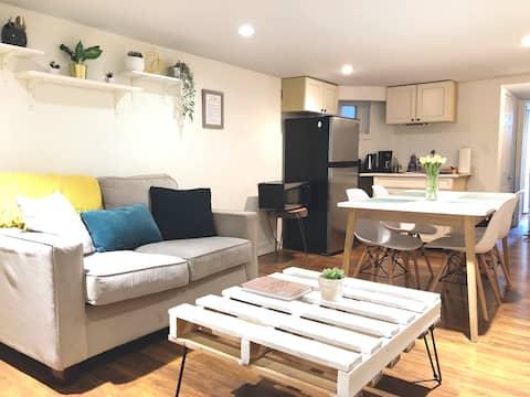 トレンディビーチ/クイーンイーストの明るく快適なアパート