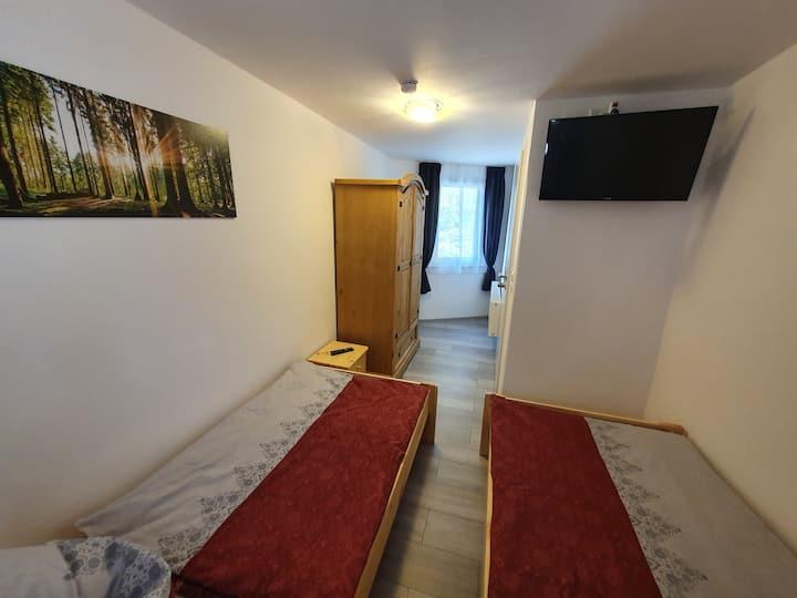 Unterhalb der Burg Mylau Haus 2 Zimmer 3