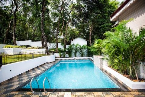 La Verde - 3BHK Villa Private Pool amidst nature