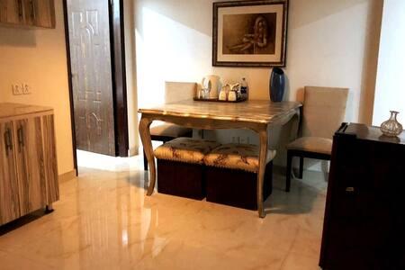 Executive flat next to beach