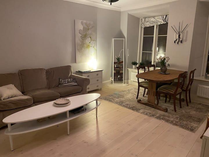 Enkel sovplats centralt i Stockholm