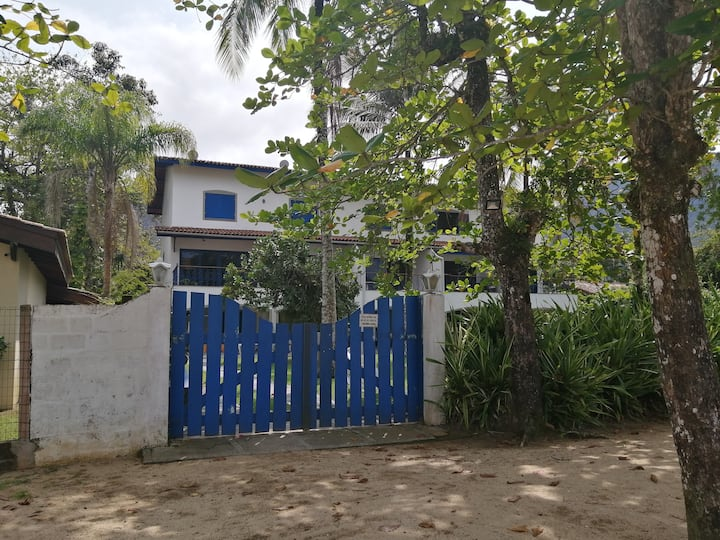 Perequê Mirim - Casa Pé na Areia