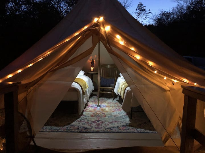 Glamping in the Finger Lakes