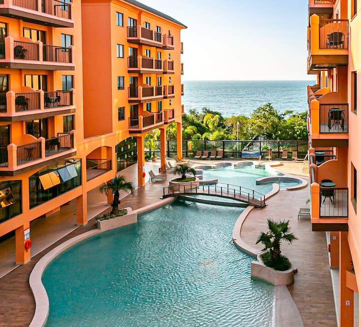 Suite with beautiful view in Jurerê resort JBV252