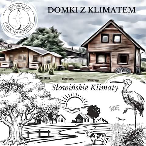 Domek z Klimatem nad morzem w Smołdzińskim Lesie