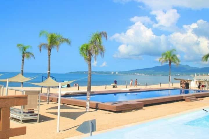 Modern Beachfront Condo Nuevo Vallarta- ARIA/Acqua