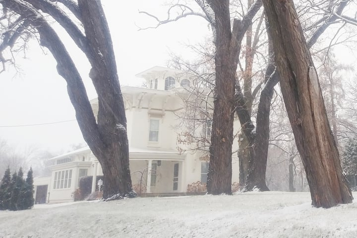 Romantic 1854 Governor Mansion Stays Wedding Event