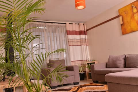 Tranquility @ Makerere : Tasteful Décor and a View