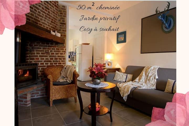 Gîte cosy en Baie de Somme, espace et bien-être.