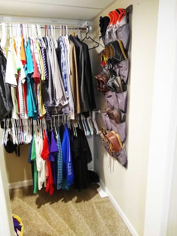 Master Bedroom Walk In Closet (will be empty during your stay)