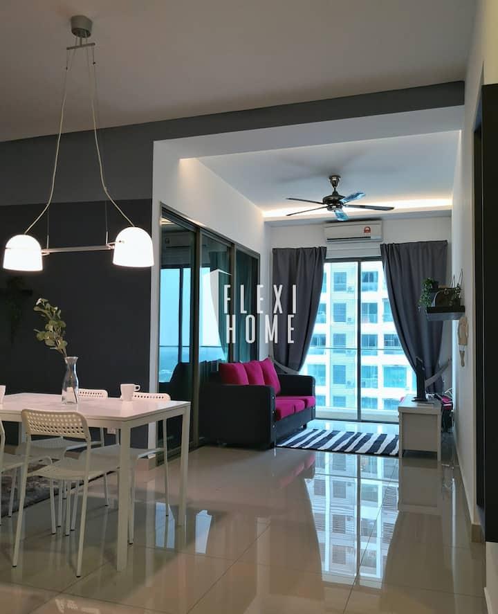 2 Bedroom Quiet Home in Cyberjaya - Flexihome