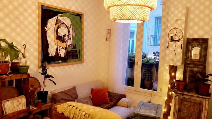 Studio cosy pour 2 en plein coeur de ville