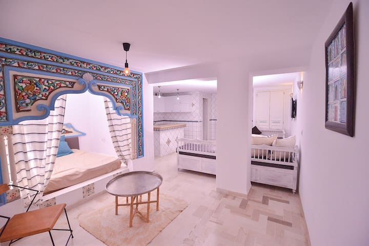 Airbetter - Cosy & Cute Amira Apartment in the heart of Hammamet