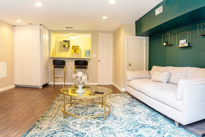 Private Guest Suite in Philadelphia Home + Parking