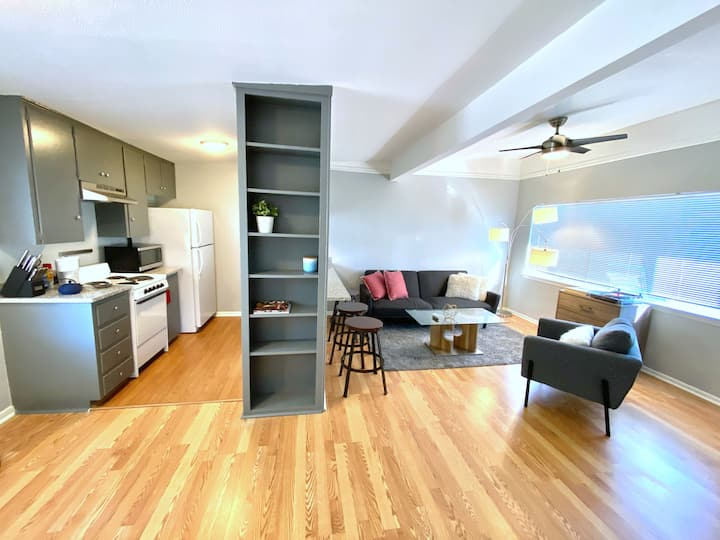 Sparkling clean and modern one bedroom close to UT
