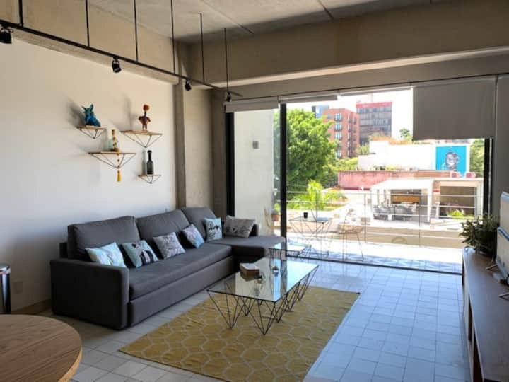 Beautiful Loft in the heart of Colonia Americana