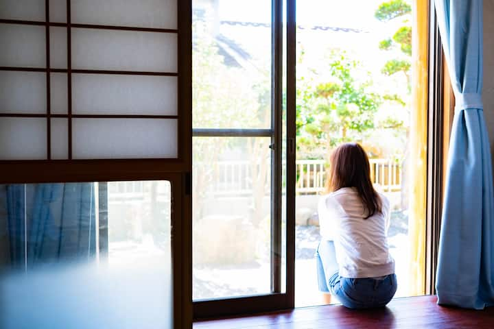 ♥「松橋駅」まで徒歩4分の一軒家まるまる貸し切りの広々住宅