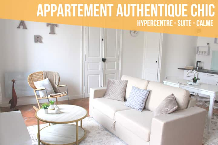 APPARTEMENT ANDREOSSY - AUTHENTIQUE - CHIC
