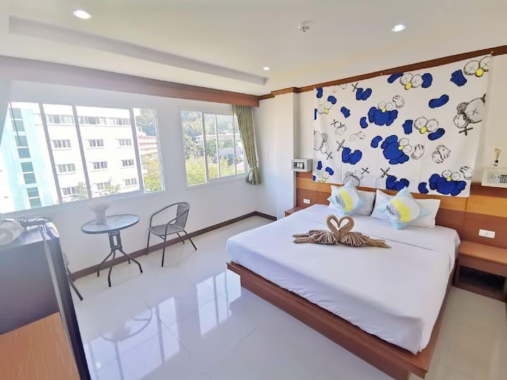 Long-Term/Patong Cheap Room/bangla/Kicten&Washing